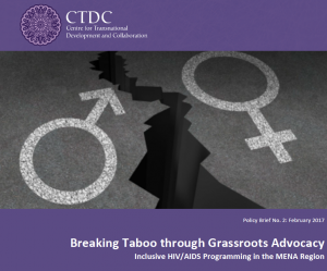 Breaking Taboo through Grassroots Advocacy: Inclusive HIV/AIDS Programming in the MENA Region